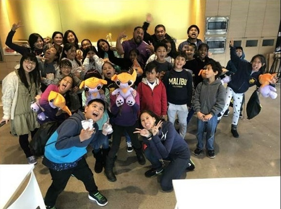 ABS-CBN Foundation International treats Woodrow Wilson Elementary School Students to an ABS-CBN TFC Studio and Office Tour in Daly City