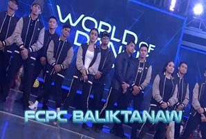 "FCPC Baliktanaw is ""World of Dance Philippines"" champion"