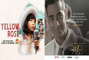 "Celebrated film festival circuit winners, ""Yellow Rose"" and ""Quezon's Game"" now available on giant streaming platforms"