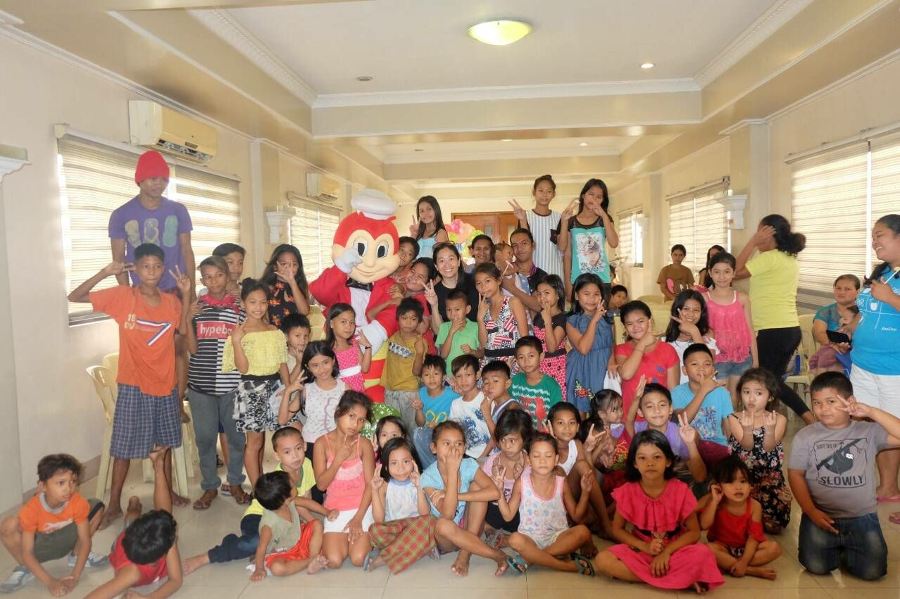 Street kids from OUR LADY ANNUNCIATION PARISH (OLAP)